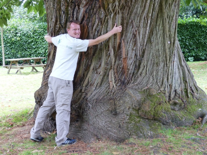 Bruce tree hugger Aug 2014